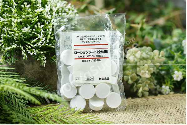 Muji Face Lotion Sheet