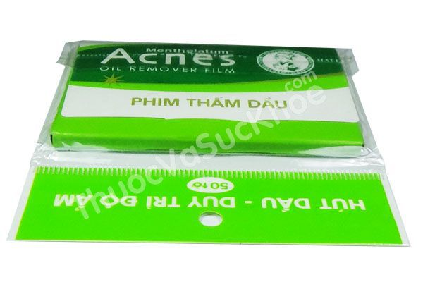 Phim thấm dầu Acnes - Acnes Oil Remover Film